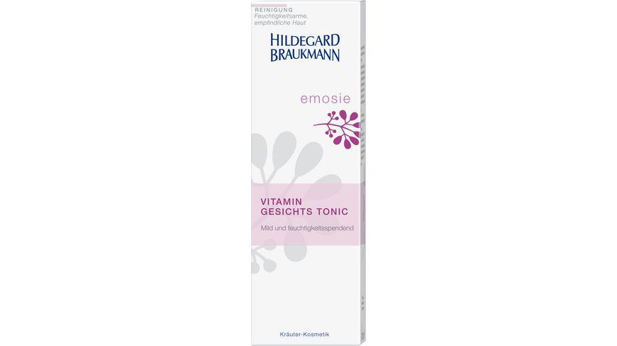 HILDEGARD BRAUKMANN emosie Vitamin Gesichts Tonic