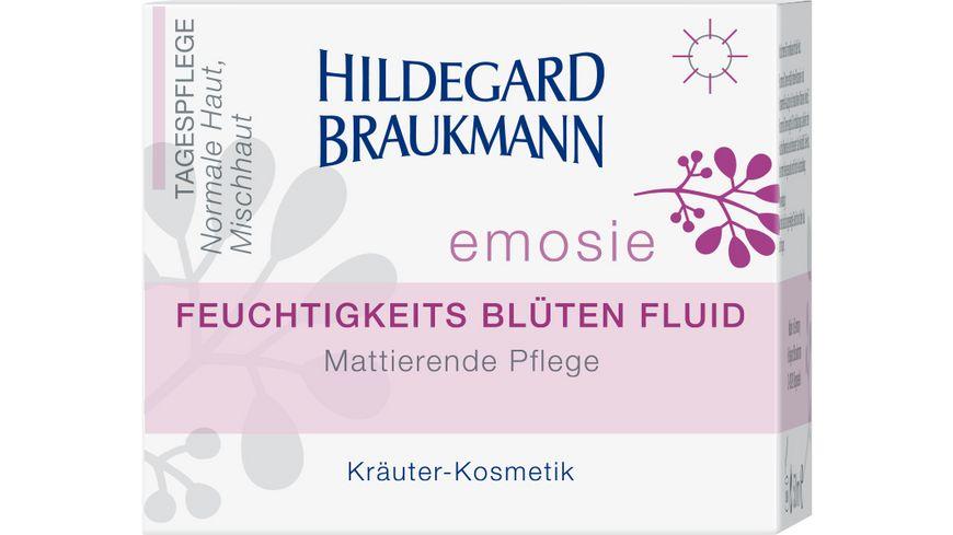 HILDEGARD BRAUKMANN emosie Feuchtigkeits Blueten Fluid