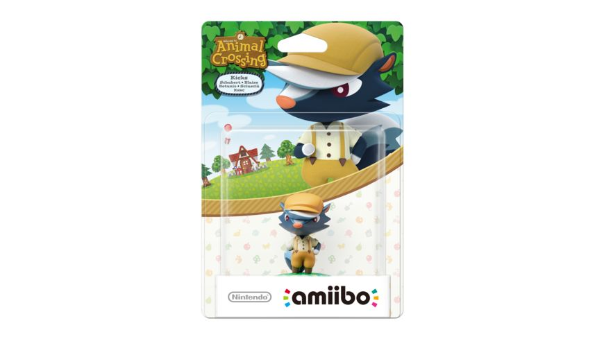 Amiibo Animal Crossing Figur Schubert