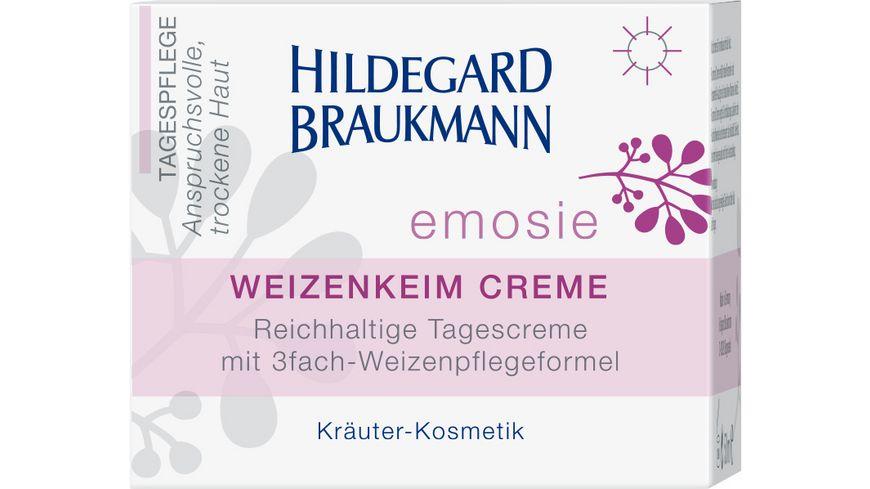 HILDEGARD BRAUKMANN emosie Weizenkeim Creme