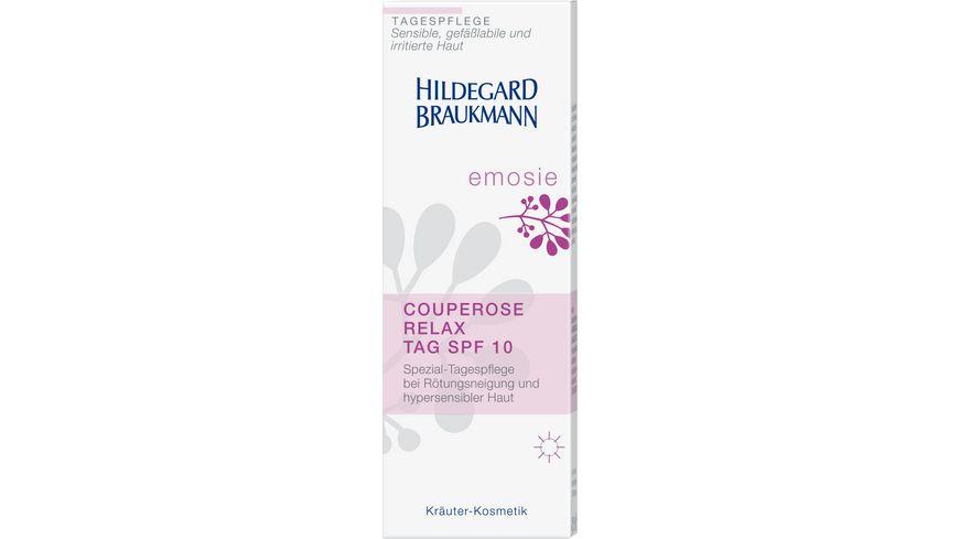 HILDEGARD BRAUKMANN emosie Couperose Relax Tag SPF 10
