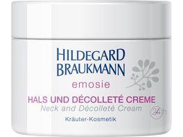 HILDEGARD BRAUKMANN emosie Hals und Decollete Creme