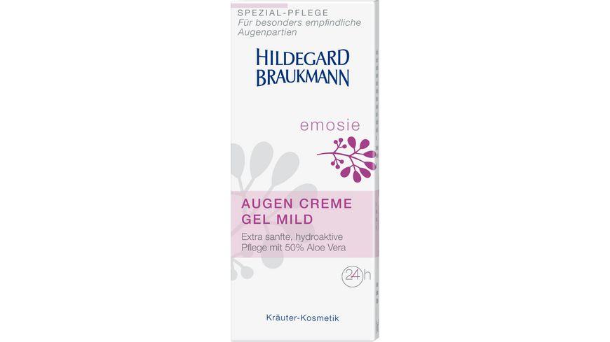 HILDEGARD BRAUKMANN emosie Augen Creme Gel mild