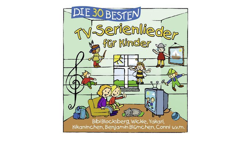 Die 30 Besten TV Serienlieder Fuer Kinder