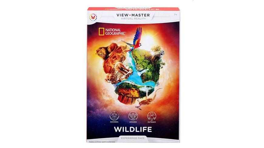 Mattel Games - View-Master - Erweiterungspack Wildtiere