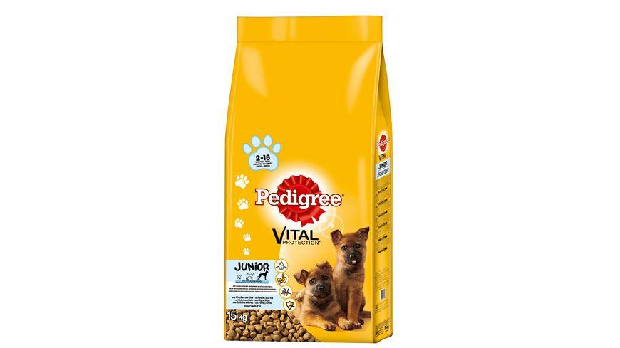 Pedigree Hundefutter Junior Maxi Huhn mit Reis