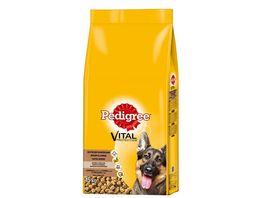 Pedigree Hundefutter Deutscher Schaeferhund mit Gefluegel und Reis