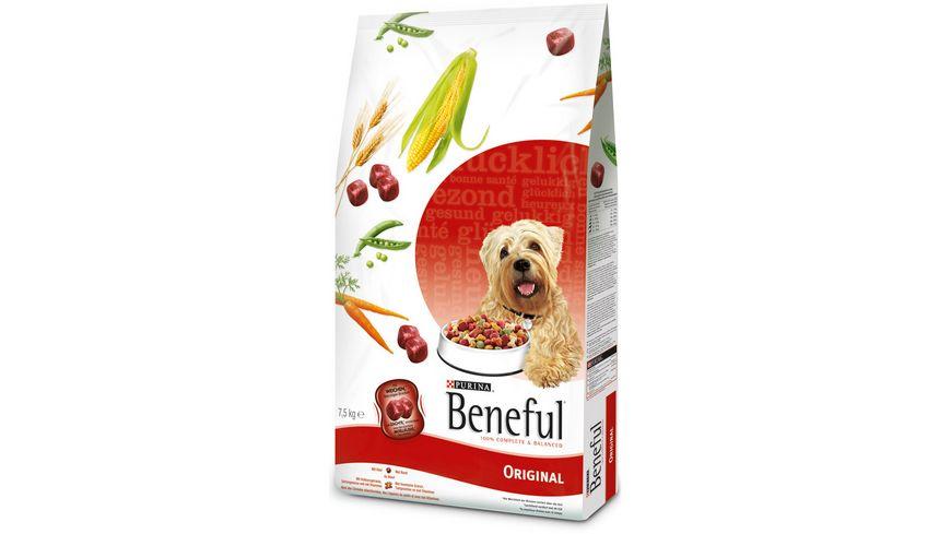 Purina Beneful Hundetrockenfutter Original mit Rind, Vollkorngetreide und Gartengemüse