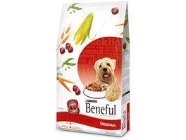 Purina Beneful Hundetrockenfutter Original mit Rind Volkorngetreide und Gartengemuese