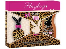 Playboy Play It Wild Duftset