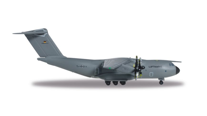 Herpa 528719 Luftwaffe Airbus A400M Atlas LTG 62 Air Transport Wing 62