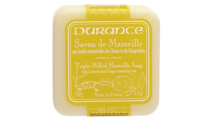 DURANCE Marseiller Seife Zitrone Ingwer
