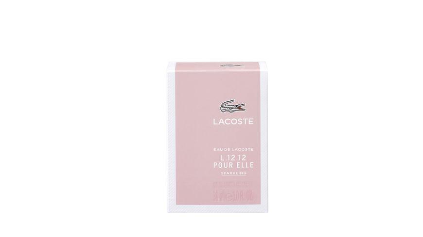 Eau de LACOSTE L 12 12 Pour Elle Sparkling Eau de Toilette Natural Spray