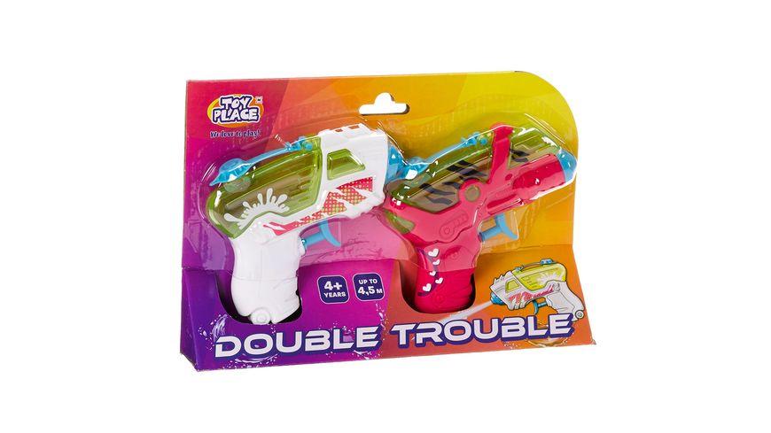 Mueller Toy Place 2 Wasserpistolen Double Trouble