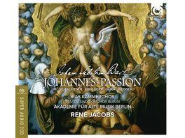 Johannes Passion 1725 Bonus DVD