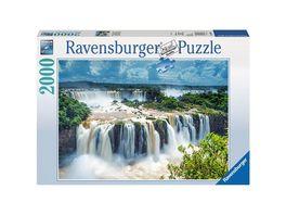 Ravensburger Puzzle Wasserfaelle von Iguazu Brasilien 2000 Teile