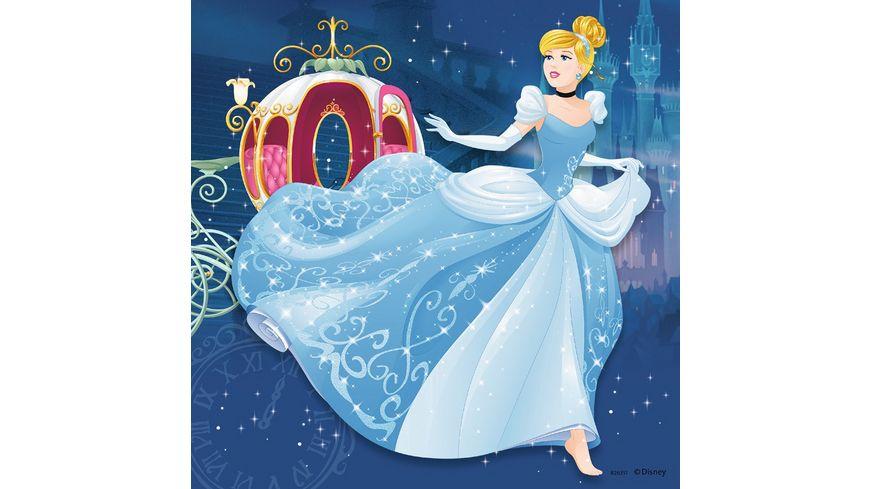 Ravensburger Puzzle Abenteuer der Prinzessinnen 3 x 49 Teile