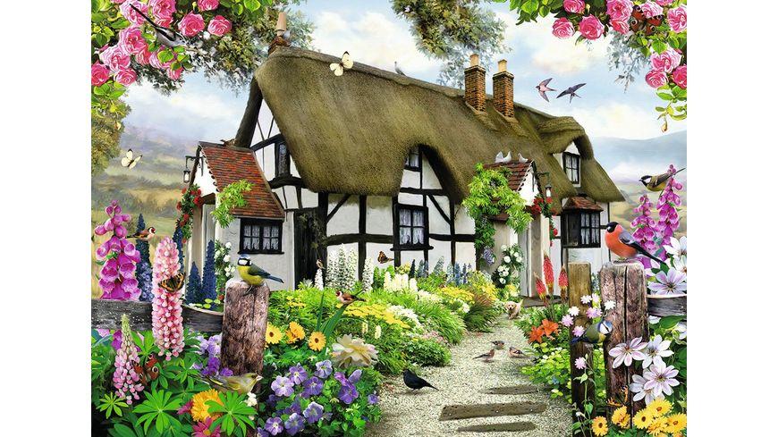 Ravensburger Puzzle Vertraeumtes Cottage 500 Teile