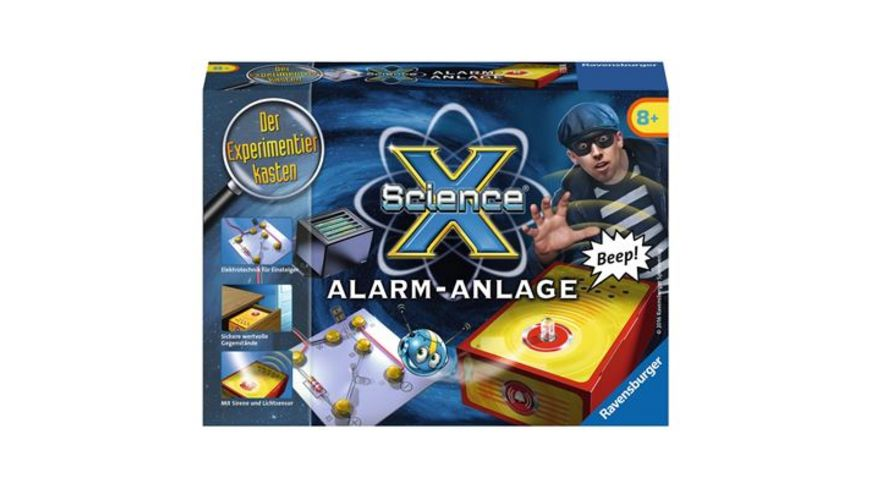 Ravensburger Beschaeftigung ScienceX Alarmanlage