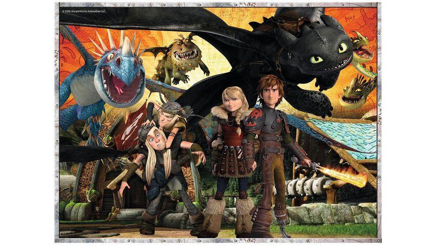Ravensburger Puzzle Dragons Drachenfreunde XXL 100 Teile
