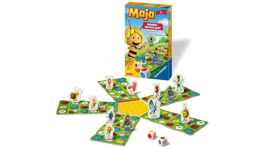 Ravensburger Spiel Mitbringspiel Biene Maja Honig Wettlauf