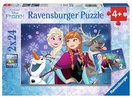 Ravensburger Puzzle Frozen Nordlichter 2x24 Teile