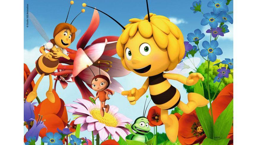 Ravensburger Puzzle Biene Maja auf der Blumenwiese 2x12 Teile