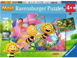 Ravensburger Puzzle Die kleine Biene Maja 2x24 Teile