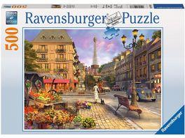 Ravensburger Puzzle Spaziergang durch Paris 500 Teile