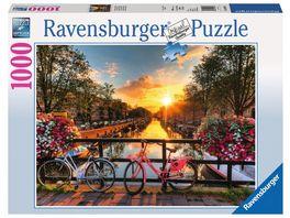 Ravensburger Puzzle Fahrraeder in Amsterdam 1000 Teile