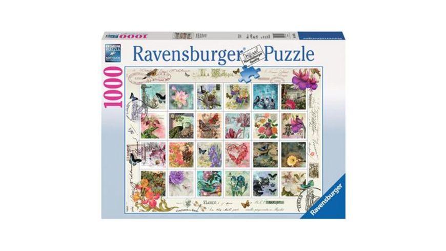 Ravensburger Puzzle Briefmarkensammlung 1000 Teile