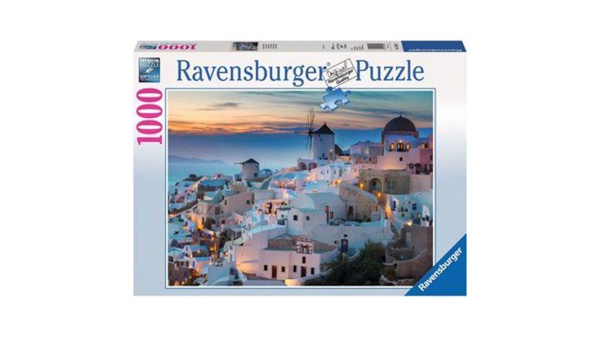 Ravensburger Puzzle Abend ueber Santorini 1000 Teile
