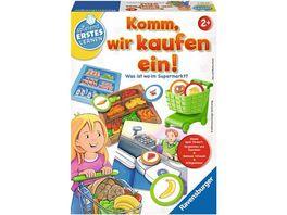 Ravensburger Spiel Lernspiele Komm wir kaufen ein