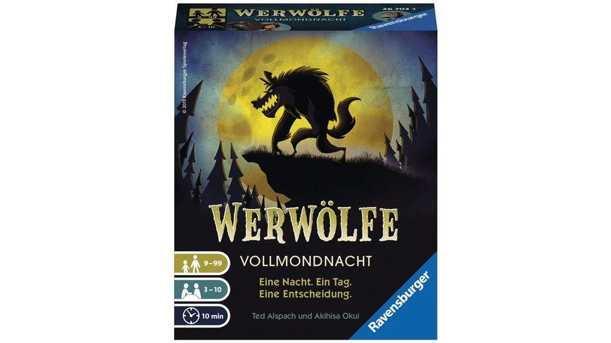 Ravensburger Spiel - Werwölfe Vollmondnacht