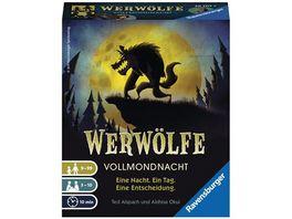 Ravensburger Spiel Karten und Wuerfelspiele Werwoelfe Vollmondnacht