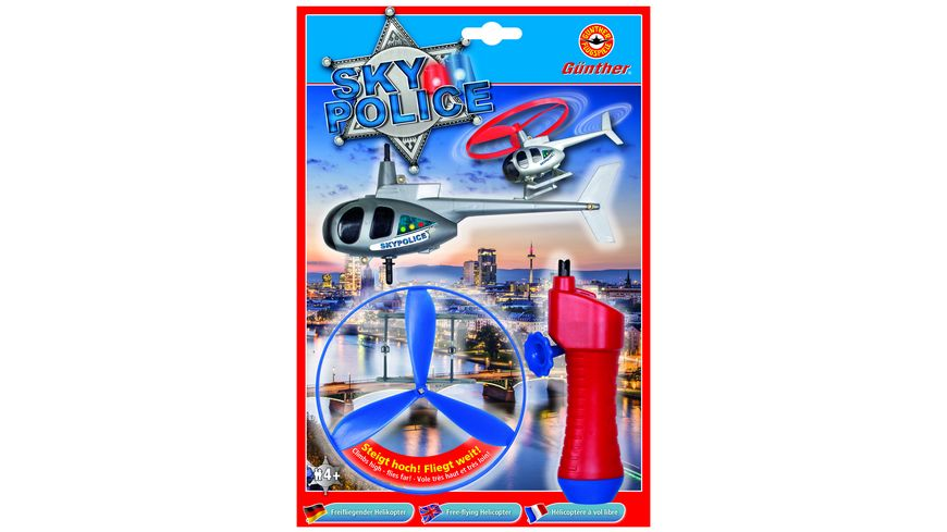 Guenther Flugmodelle Hubschrauber Sky Police