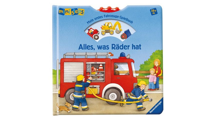 Ravensburger Spiel ministeps Alles was Raeder hat