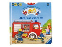 Buch Ravensburger Buch ministeps Alles was Raeder hat