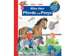 Ravensburger Buch Wieso Weshalb Warum Alles ueber Pferde und Ponys