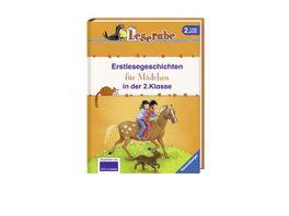 Ravensburger Buch Leserabe Erstlesegeschichten fuer Maedchen in der 2 Klasse