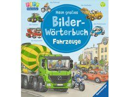 Ravensburger Mein grosses Bilder Woerterbuch Fahrzeuge