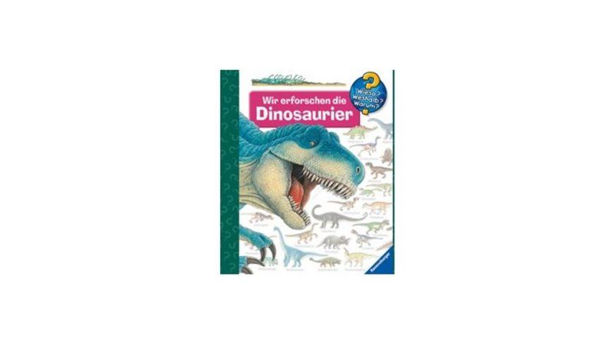 Ravensburger Buch - Wieso? Weshalb? Warum? - Wir erforschen die Dinosaurier