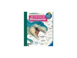 Ravensburger Buch Wieso Weshalb Warum Wir erforschen die Dinosaurier