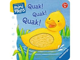 Ravensburger Buch ministeps Quak Quak Quak