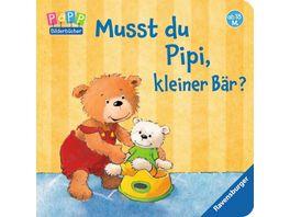 Ravensburger Bilderbuch Musst du Pipi kleiner Baer