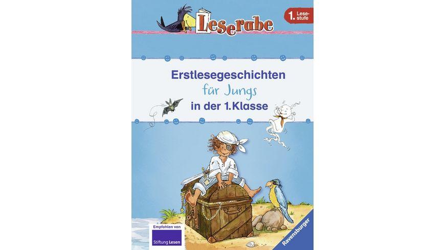 Ravensburger Buch - Leserabe - Erstlesegeschichten für Jungs in der 1. Klasse