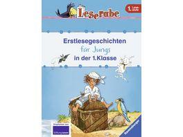 Ravensburger Buch Leserabe Erstlesegeschichten fuer Jungs in der 1 Klasse