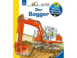 Ravensburger Buch Wieso Weshalb Warum Junior Der Bagger