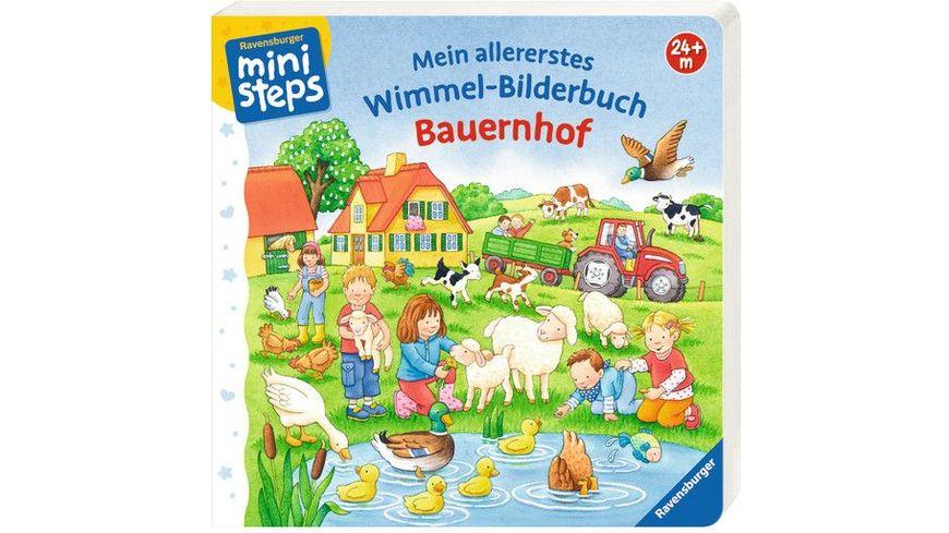 Ravensburger ministeps Mein allererstes Wimmel Bilderbuch Bauernhof