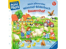 Ravensburger Buch ministeps Mein allererstes Wimmel Bilderbuch Bauernhof